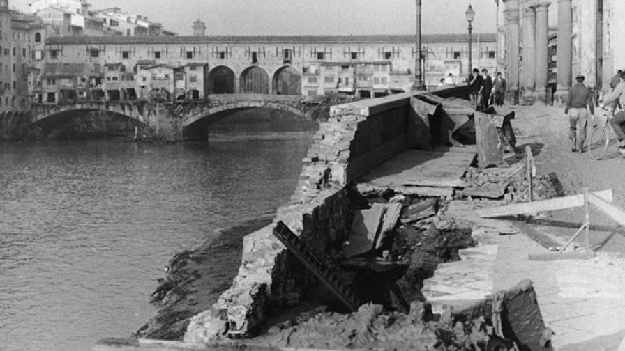 Бедствието, което заля съкровищата на Флоренция
