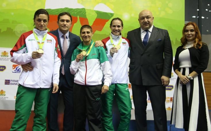 Министър Кралев аплодира победите на Севда Асенова, Станимира Петрова и Деница Елисеева