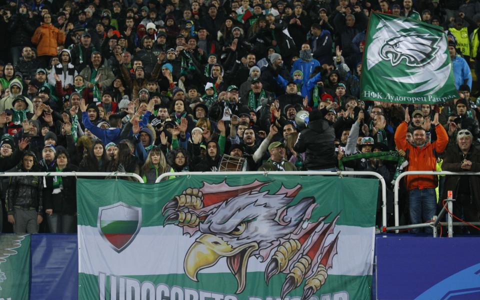 Лудогорец изпревари няколко клуба по посещаемост в ШЛ