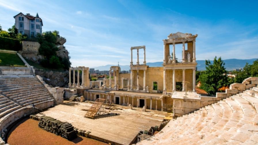 Пловдив Античен театър