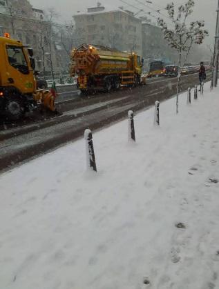 Снегопочистването в София върви с пълна сила