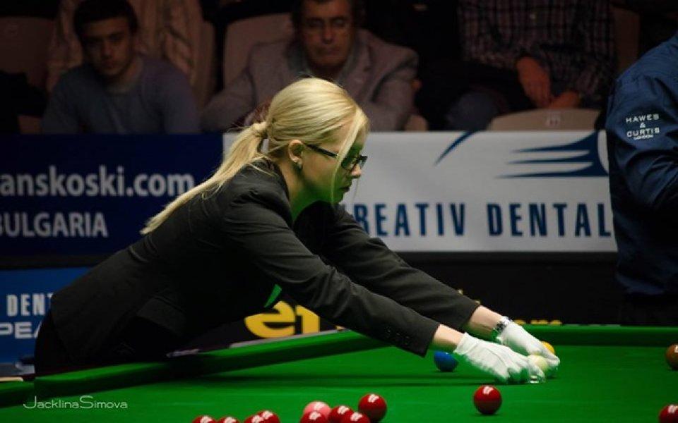 Българката Десислава Божилова беше съдия на финала на Откритото първенство