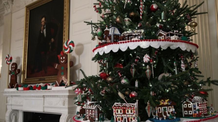 Коледна приказка в Белия дом (снимки)