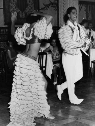 Кубински танцьори през 90-е години на миналия век