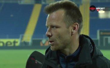 Топузаков: Имаше психическа умора, най-важна бе победата