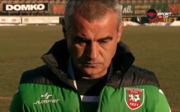 Сашо Ангелов: Имам договор с Ботев Враца за 1 година и оставам в клуба