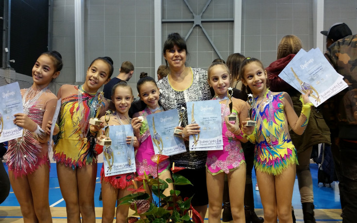 Боряна Калейн първа в турнира на Академик по художествена гимнастика