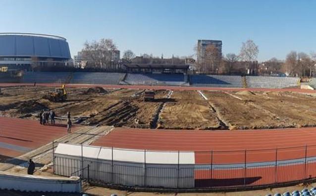 Градски стадион в Русе<strong> източник: ММС</strong>