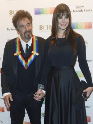 Ал Пачино и Лусила Сола в Белия дом