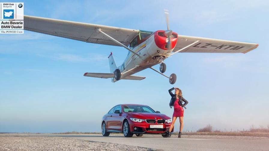 BMW 440i Edition RED и Илона Йорданова в страхотна фотосесия