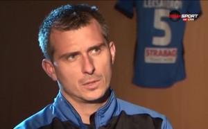 Александър Александров: Целият отбор помага на защитата на Левски