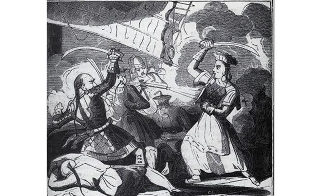 Илюстрация на безскрупулната Чинг Ши.
