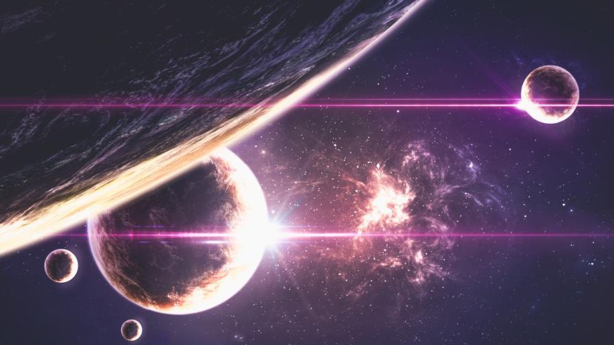 Микроби пътуват между планетите с космически прах