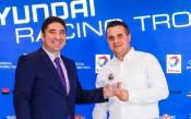 Церемония по награждаването на шампионите в Hyundai Racing Trophy