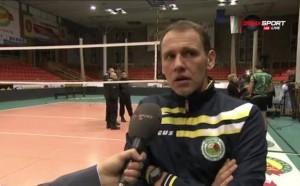 Треньорът на волейболния шампион прие философски загубата от Левски