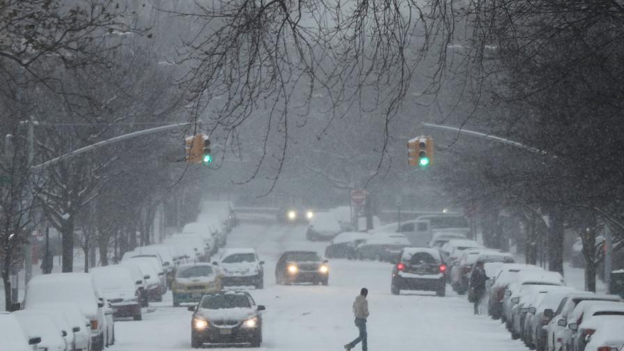 Зимна буря взе пет жертви в САЩ