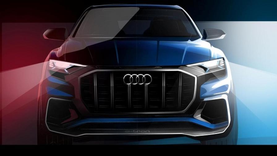 Audi ни подготвя за Q8 E-tron concept
