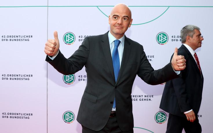 Инфантино: ФИФА навлиза в нова ера