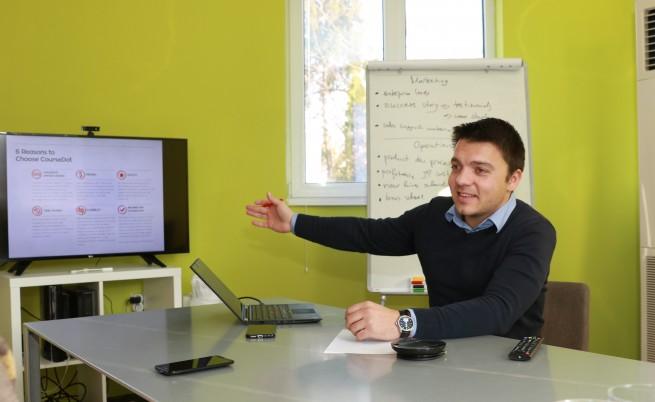 Теодор Панайотов, съосновател на CourseDot