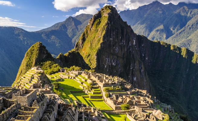 В коя страна се намира построеният от инките Мачу Пикчу?