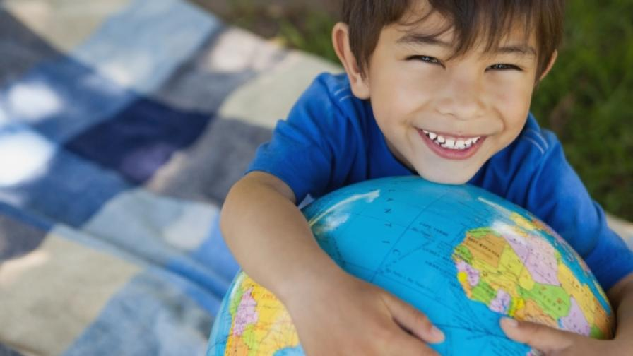 Днес урокът е по география