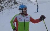 Алберт Попов с трето място на слалом за ФИС