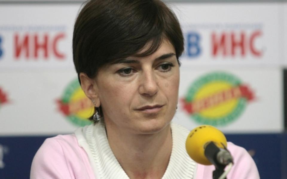 Подливат вода на Екатерина Дафовска във федерацията по биатлон