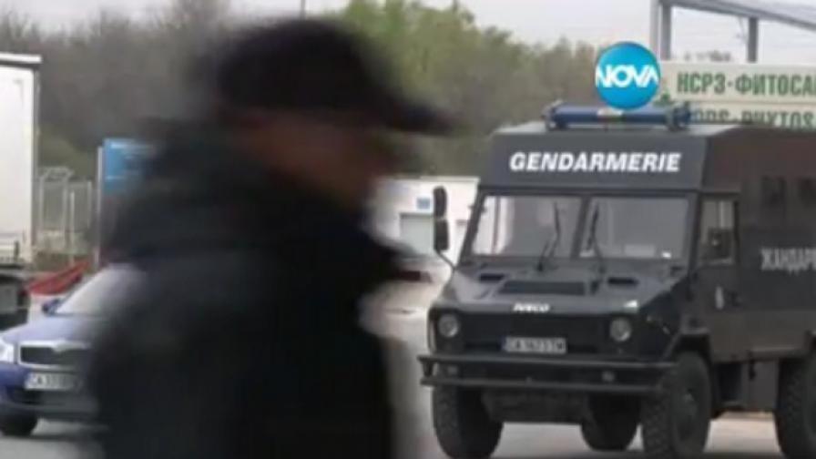 711 хил. лева у арестуваните митничари