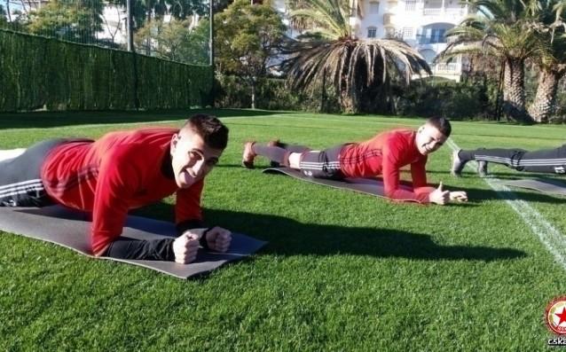 Тежък ден за футболистите на ЦСКА
