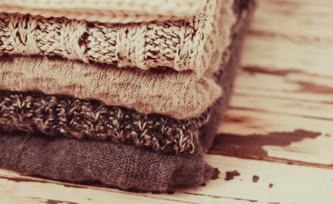 Колко плетени пуловера (жилетки) имаш в гардероба си?