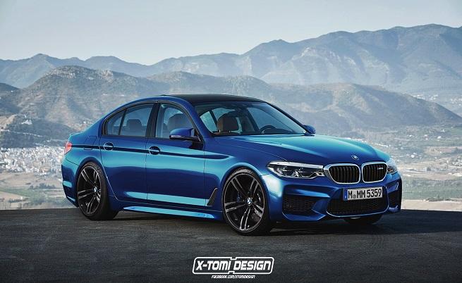 Рендър на BMW M5 (F90)