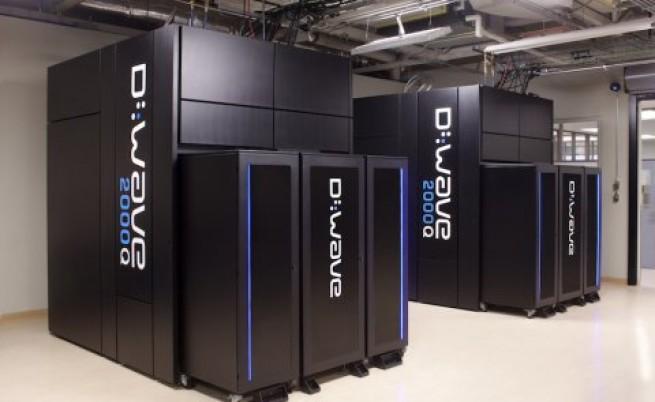 Квантовият компютър D-Wave 2000Q