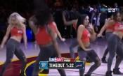 Момичетата на Кливланд с бурни танци за победата