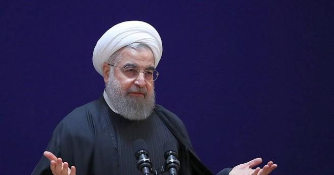 Иранският президент Хасан Рохани предупреди президента на САЩ Доналд Тръмп