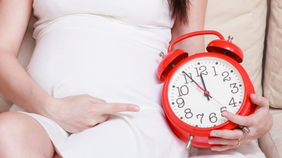 Когато моментът на раждането наближи