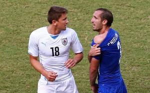 Италия срещу Уругвай на Лазурния бряг