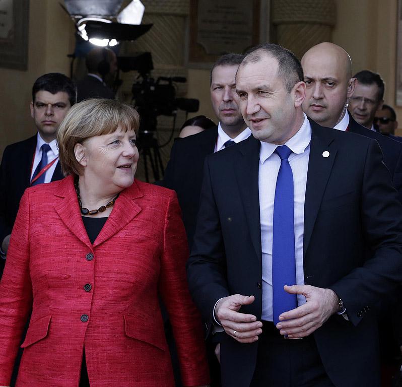 Президентът Румен Радев на неофициалната сеща на ЕС в малтийската столица Ла Валета