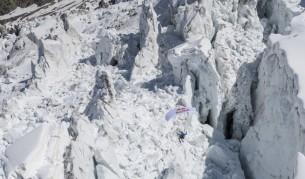Скоростното спускане през ледник