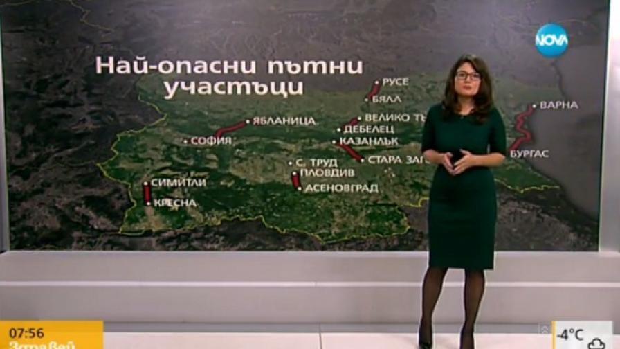 Кои са най-опасните пътища в България