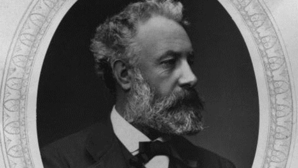 191 години от рождението на великия Жул Верн - писателят и откривателят!