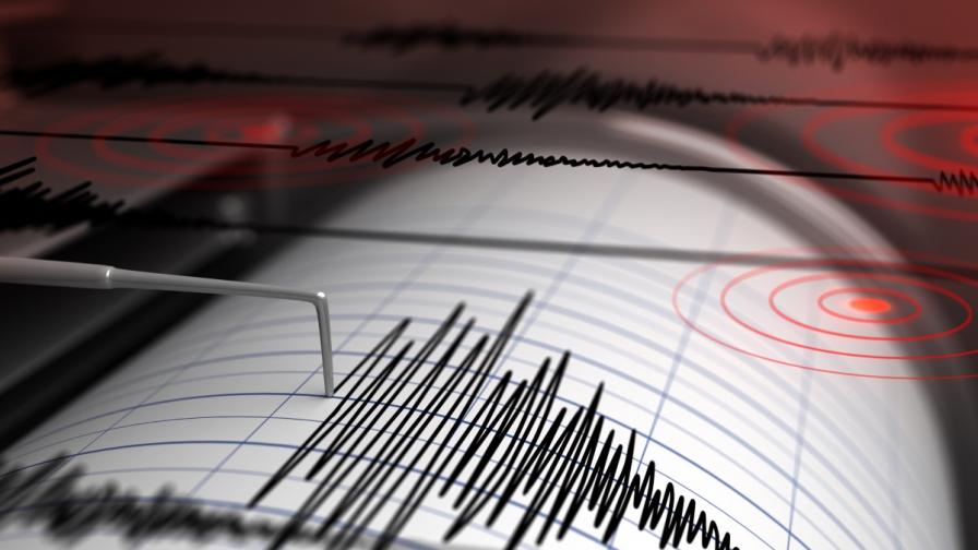 Земетресение в Югозападна България, усетено в София и Благоевград