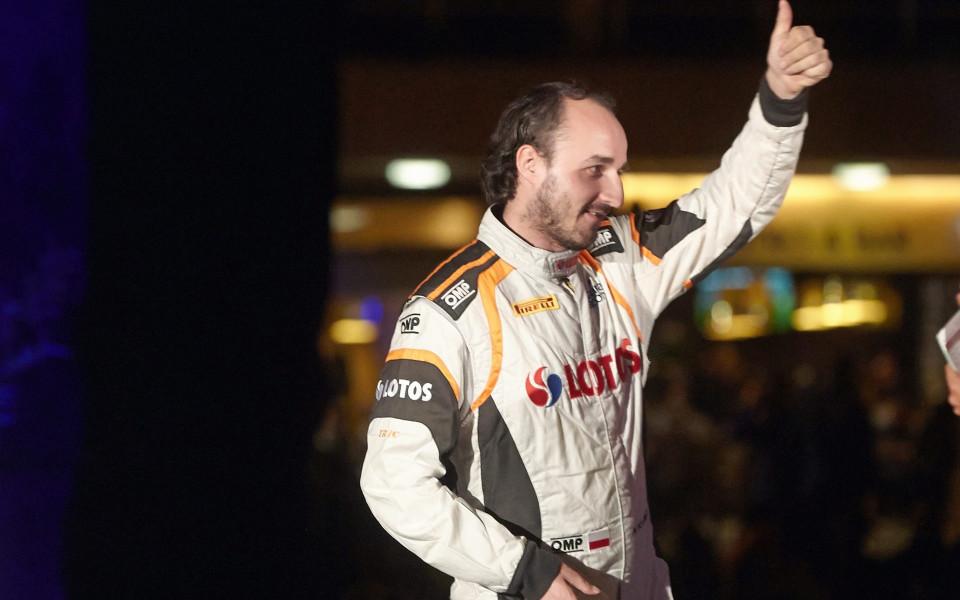 Роберт Кубица се завърна на пистата