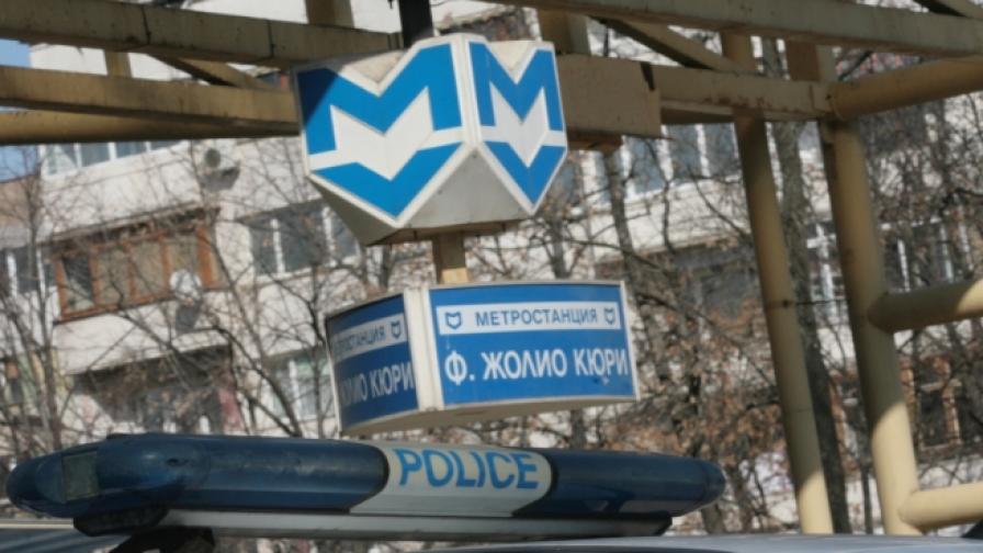 Жена се хвърли на релсите в столичното метро