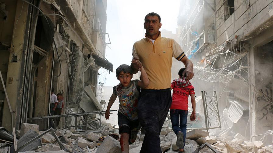 Обвиняват САЩ за смъртта на стотици в Сирия