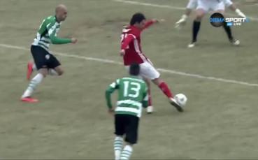 Първият гол на Руи Педро за ЦСКА срещу Черно море