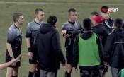 Разправии със съдията и напрежение след ЦСКА - Ботев