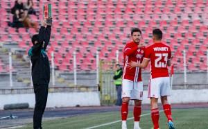 ЦСКА ще играе контрола в паузата