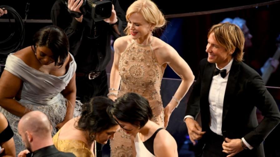 """Крадец рецидивист целуна Никол Кидман на """"Оскар""""-ите"""