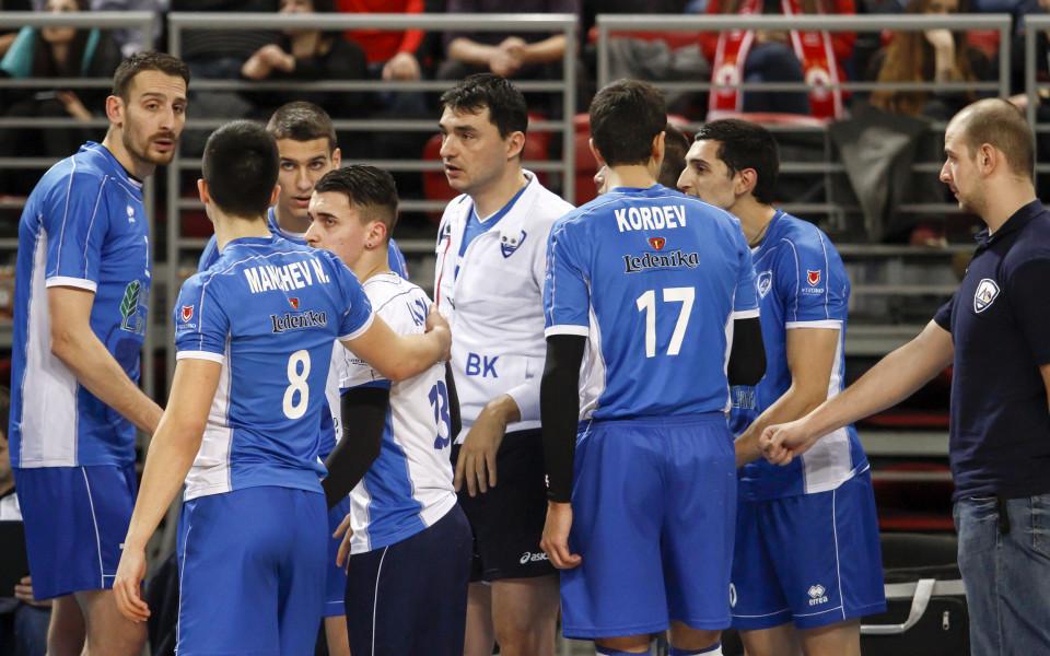 Левски победи Марек във волейболното първенство