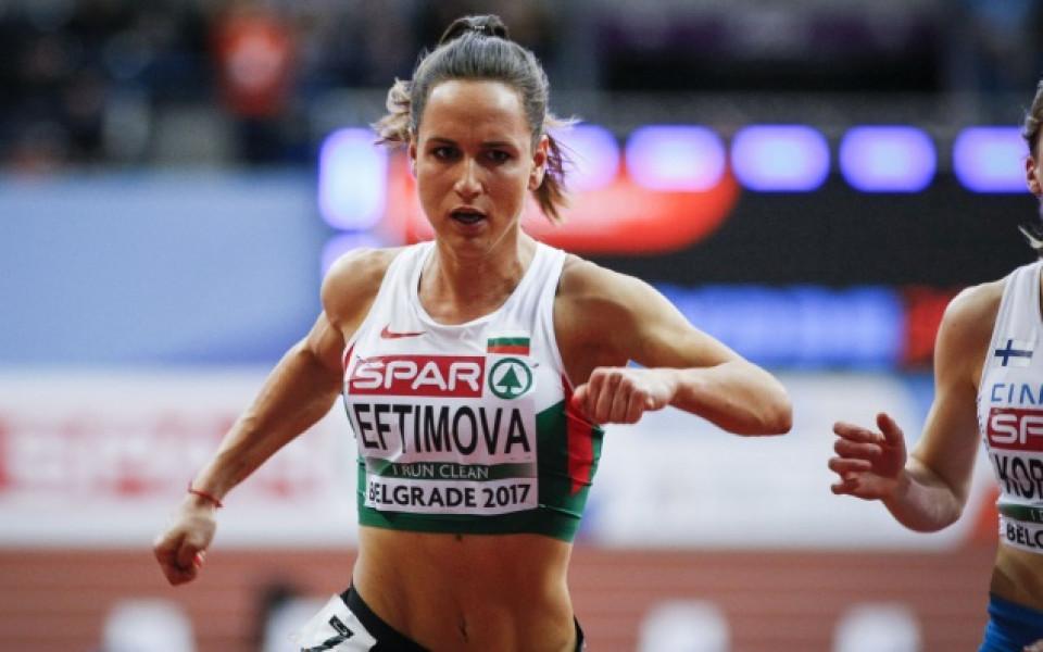 Атлетката Инна Ефтимова между Олимпиадата и рисуването